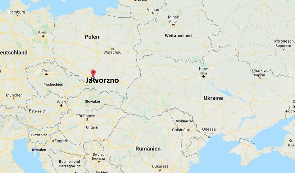Wo liegt Jaworzno? Wo ist Jaworzno? in welchem land liegt Jaworzno