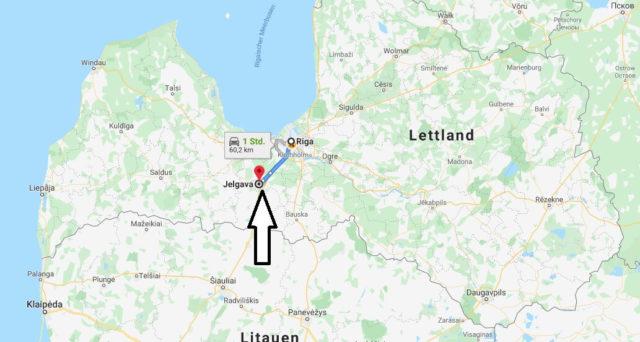 Wo liegt Jelgava? Wo ist Jelgava? in welchem land liegt Jelgava