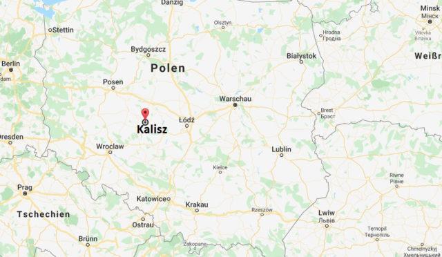 Wo liegt Kalisz? Wo ist Kalisz? in welchem land liegt Kalisz