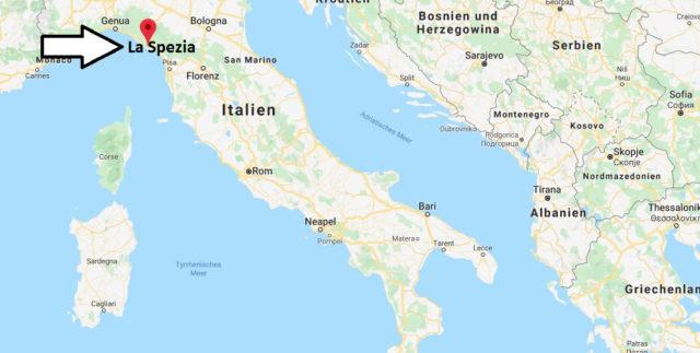 Wo liegt La Spezia? Wo ist La Spezia? in welchem land liegt La Spezia