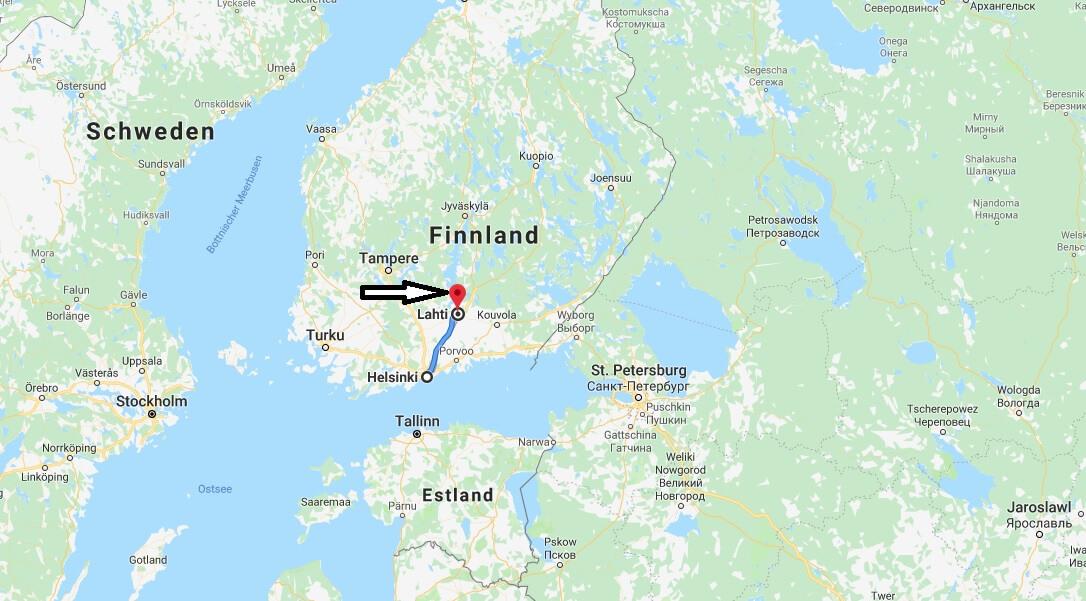 Wo liegt Lahti? Wo ist Lahti? in welchem land liegt Lahti