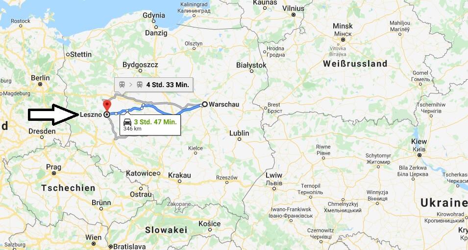 Wo liegt Leszno? Wo ist Leszno? in welchem land liegt Leszno