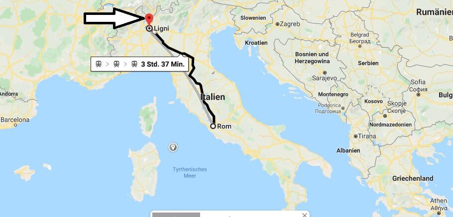Wo liegt Ligni? Wo ist Ligni? in welchem land liegt Ligni