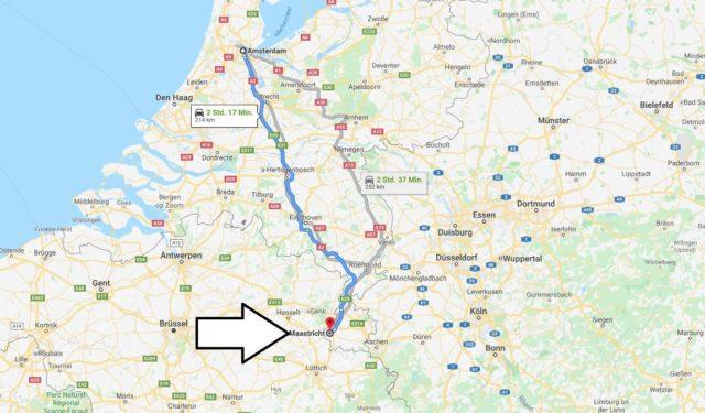 Wo liegt Maastricht? Wo ist Maastricht? in welchem land liegt Maastricht
