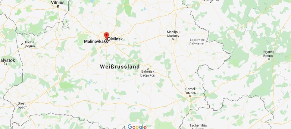 Wo liegt Malinovka? Wo ist Malinovka? in welchem land liegt Malinovka