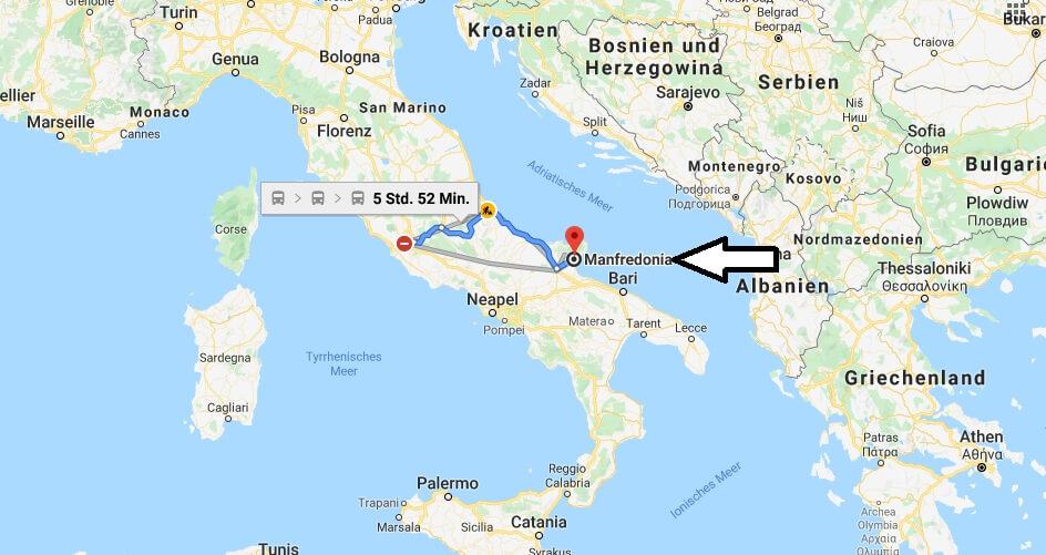 Wo liegt Manfredonia? Wo ist Manfredonia? in welchem land liegt Manfredonia