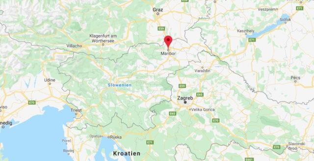 Wo liegt Maribor? Wo ist Maribor? in welchem land liegt Maribor