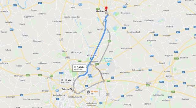 Wo liegt Mechelen? Wo ist Mechelen? in welchem land liegt Mechelen