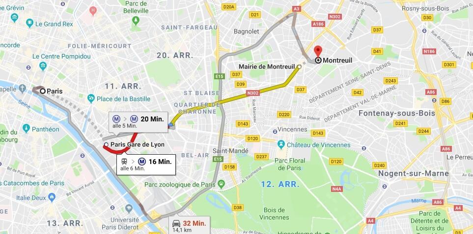 Wo liegt Montreuil? Wo ist Montreuil? in welchem land liegt Montreuil