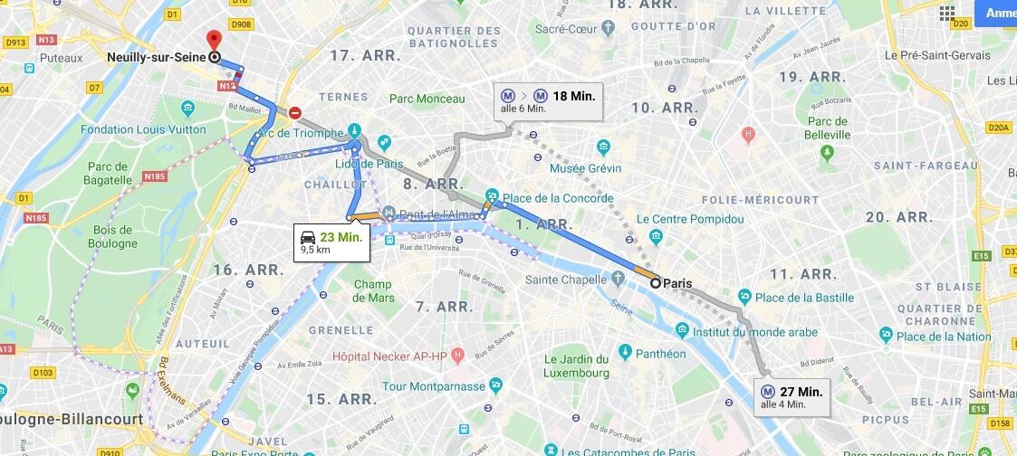 Wo liegt Neuilly-Sur-Seine? Wo ist Neuilly-Sur-Seine? in welchem land liegt Neuilly-Sur-Seine