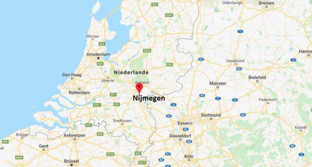 Wo liegt Nijmegen? Wo ist Nijmegen? in welchem land liegt Nijmegen