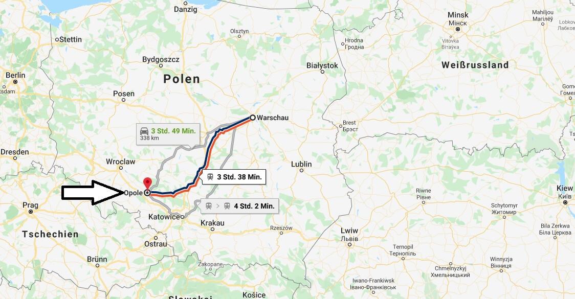 Wo liegt Opole? Wo ist Opole? in welchem land liegt Opole