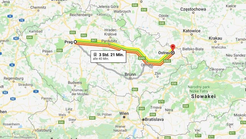 Wo liegt Ostrau? Wo ist Ostrau? in welchem land liegt Ostrau