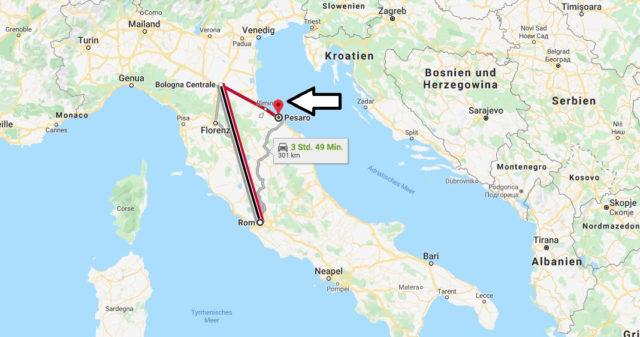 Wo liegt Pesaro? Wo ist Pesaro? in welchem land liegt Pesaro