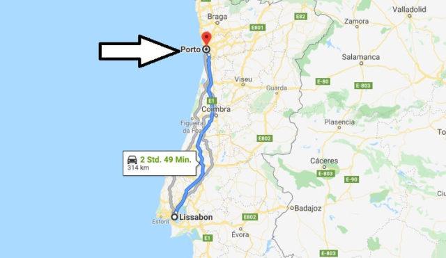 Wo liegt Porto? Wo ist Porto? in welchem land liegt Porto