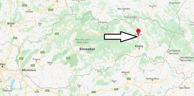 Wo liegt Prešov? Wo ist Prešov? in welchem land liegt Prešov