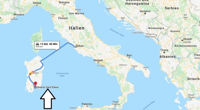 Wo liegt Quartu Sant'Elena? Wo ist Quartu Sant'Elena? in welchem land liegt Quartu Sant'Elena