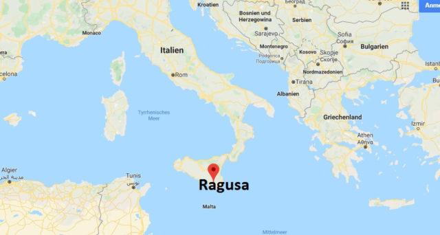 Wo liegt Ragusa? Wo ist Ragusa? in welchem land liegt Ragusa