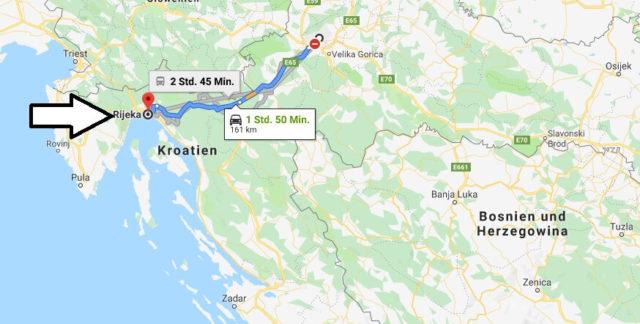 Wo liegt Rijeka? Wo ist Rijeka? in welchem land liegt Rijeka
