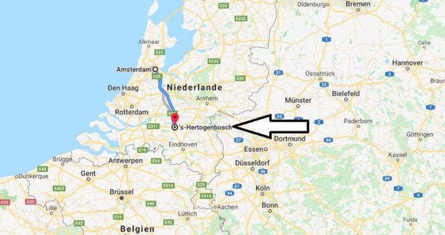 Wo liegt 'S-Hertogenbosch? Wo ist 'S-Hertogenbosch? in welchem land liegt 'S-Hertogenbosch