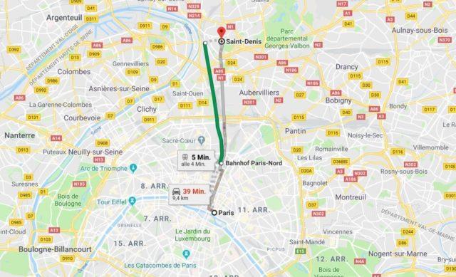 Wo liegt Saint-Denis? Wo ist Saint-Denis? in welchem land liegt Saint-Denis