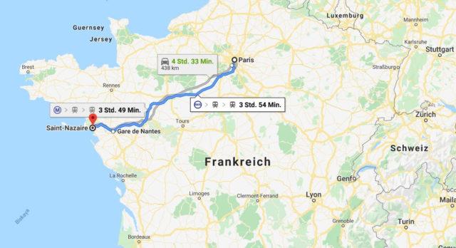 Wo liegt Saint-Nazaire? Wo ist Saint-Nazaire? in welchem land liegt Saint-Nazaire