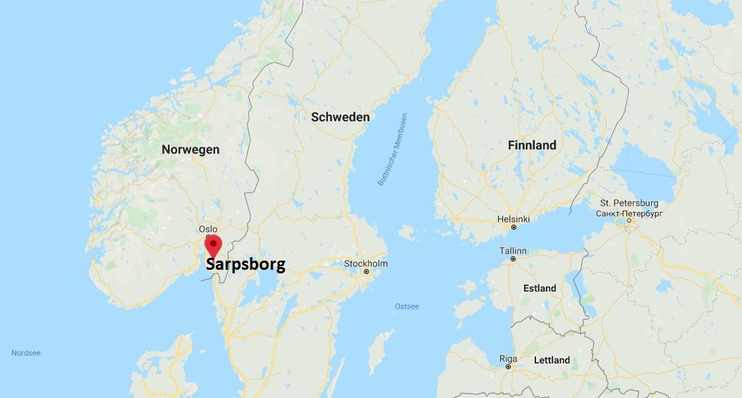 Wo liegt Sarpsborg? Wo ist Sarpsborg? in welchem land liegt Sarpsborg