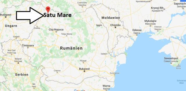 Wo liegt Satu Mare? Wo ist Satu Mare? in welchem land liegt Satu Mare