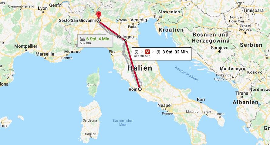 Wo liegt Sesto San Giovanni? Wo ist Sesto San Giovanni? in welchem land liegt Sesto San Giovanni