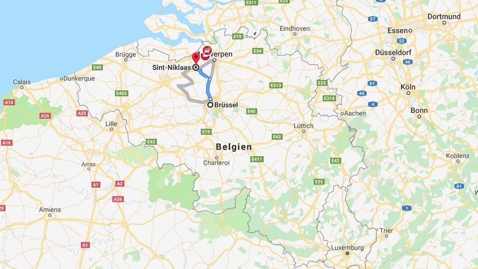 Wo liegt Sint-Niklaas? Wo ist Sint-Niklaas? in welchem land liegt Sint-Niklaas