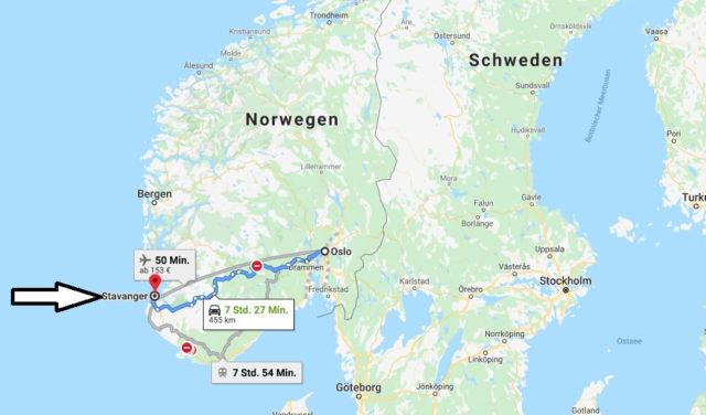 Wo liegt Stavanger? Wo ist Stavanger? in welchem land liegt Stavanger