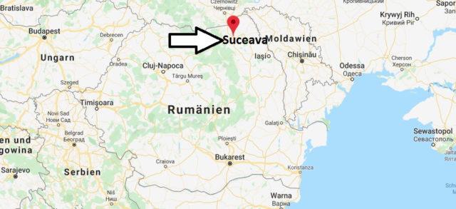 Wo liegt Suceava? Wo ist Suceava? in welchem land liegt Suceava