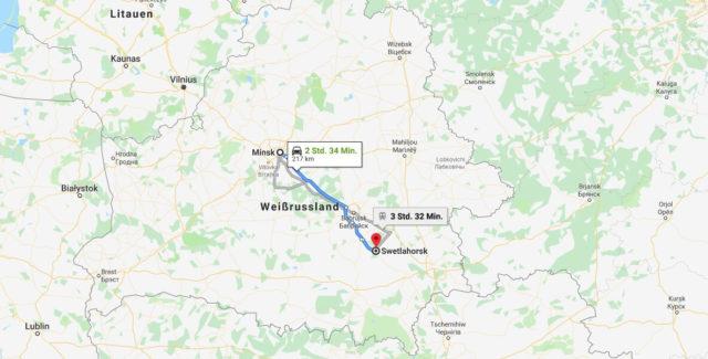 Wo liegt Swetlogorsk? Wo ist Swetlogorsk? in welchem land liegt Swetlogorsk