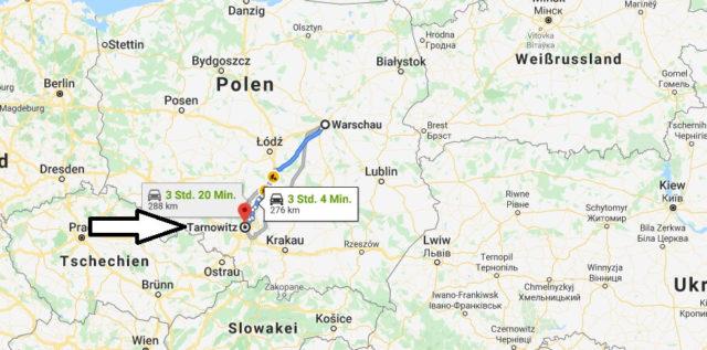 Wo liegt Tarnowskie Gory? Wo ist Tarnowskie Gory? in welchem land liegt Tarnowskie Gory