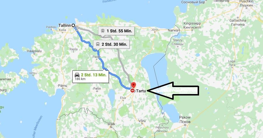 Wo liegt Tartu? Wo ist Tartu? in welchem land liegt Tartu
