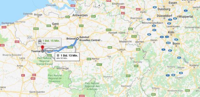 Wo liegt Tournai? Wo ist Tournai? in welchem land liegt Tournai