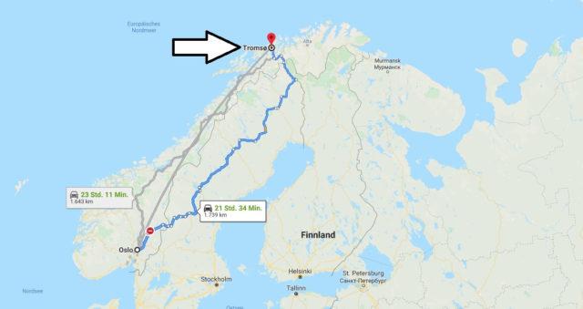 Wo liegt Tromso? Wo ist Tromso? in welchem land liegt Tromso