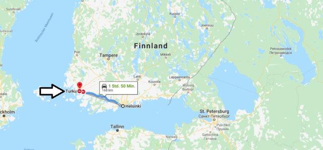Wo liegt Turku? Wo ist Turku? in welchem land liegt Turku