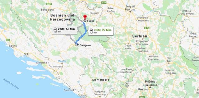 Wo liegt Tuzla? Wo ist Tuzla? in welchem land liegt Tuzla