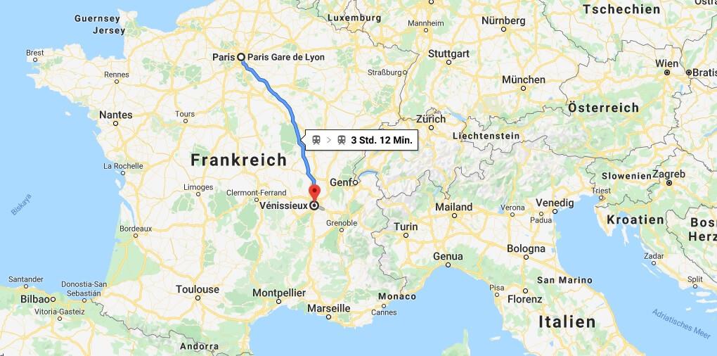 Wo liegt Vénissieux? Wo ist Vénissieux? in welchem land liegt Vénissieux