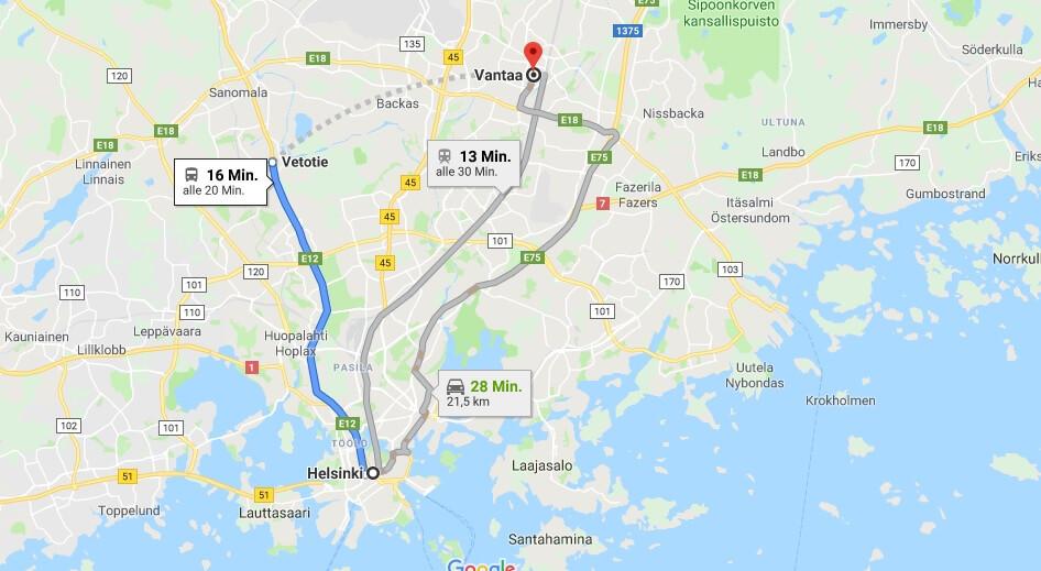Wo liegt Vantaa? Wo ist Vantaa? in welchem land liegt Vantaa