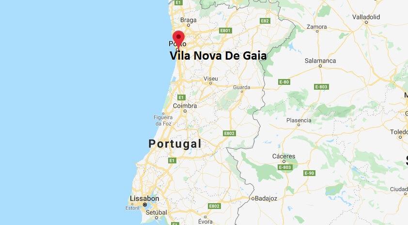 Wo liegt Vila Nova De Gaia? Wo ist Vila Nova De Gaia? in welchem land liegt Vila Nova De Gaia