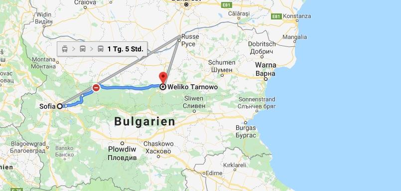 Wo liegt Weliko Tarnowo? Wo ist Weliko Tarnowo? in welchem land liegt Weliko Tarnowo
