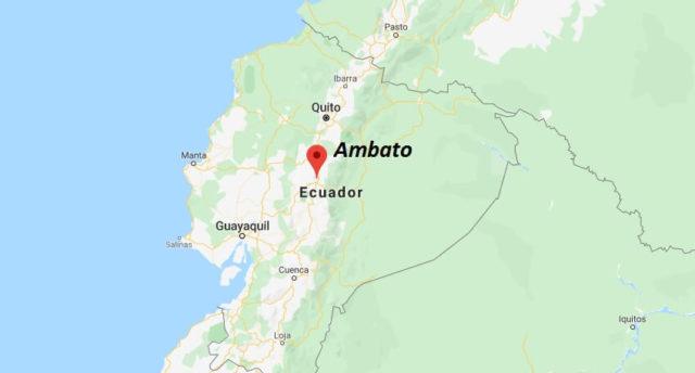 Wo liegt Ambato? Wo ist Ambato? in welchem land liegt Ambato