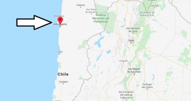 Wo liegt Antofagasta? Wo ist Antofagasta? in welchem land liegt Antofagasta