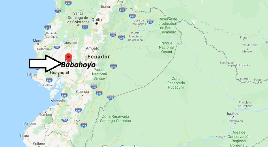 Wo liegt Babahoyo? Wo ist Babahoyo? in welchem land liegt Babahoyo