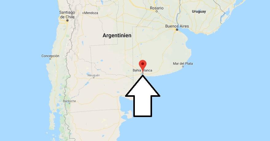 Wo liegt Bahia Blanca? Wo ist Bahia Blanca? in welchem land liegt Bahia Blanca