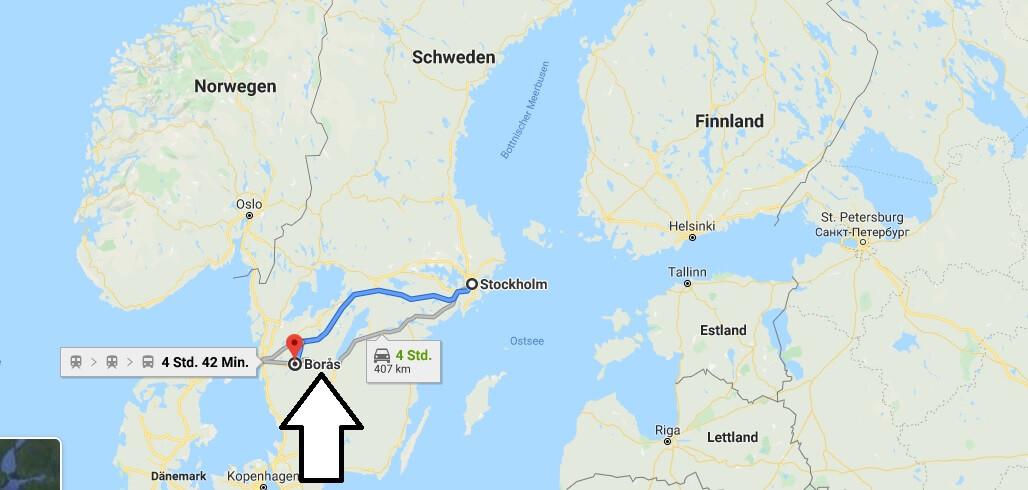Wo liegt Borås? Wo ist Borås? in welchem land liegt Borås