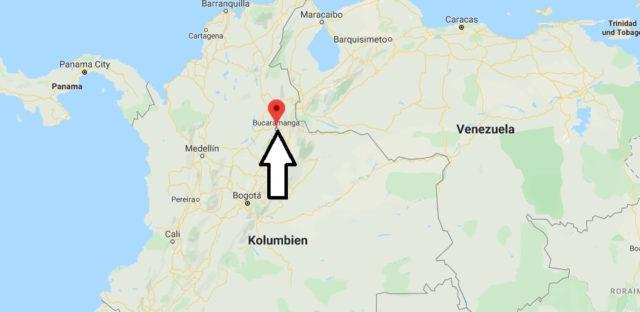 Wo liegt Bucaramanga? Wo ist Bucaramanga? in welchem land liegt Bucaramanga