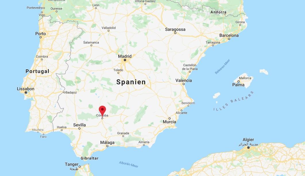 Wo liegt Córdoba? Wo ist Córdoba? in welchem land liegt Córdoba
